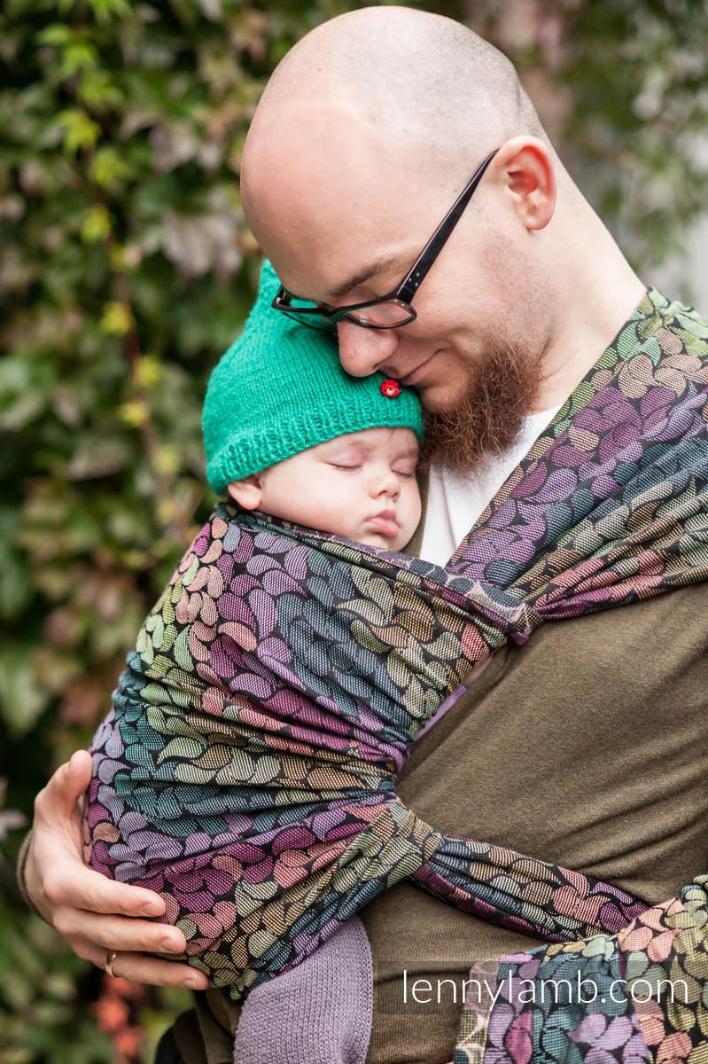 Baby Wrap Jacquard Weave 100 Cotton Colors Of Rain