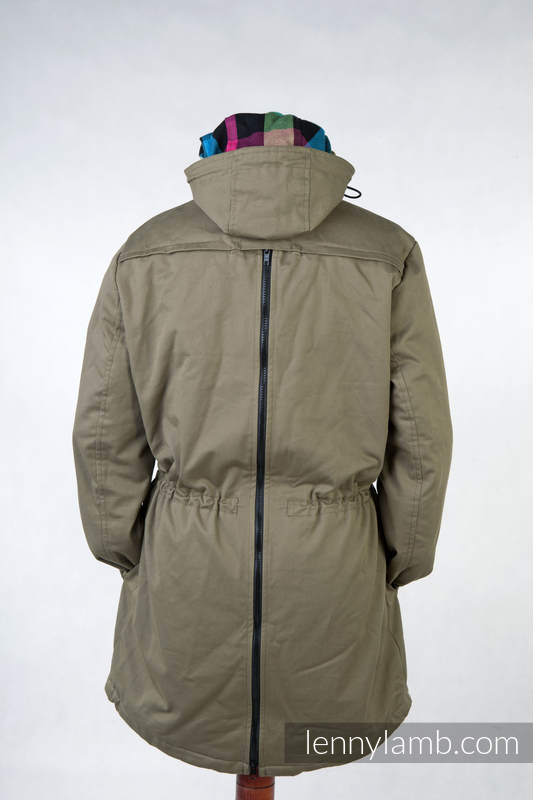 Parka Babywearing Coat - size XS -  Khaki & Customized Finishing #babywearing