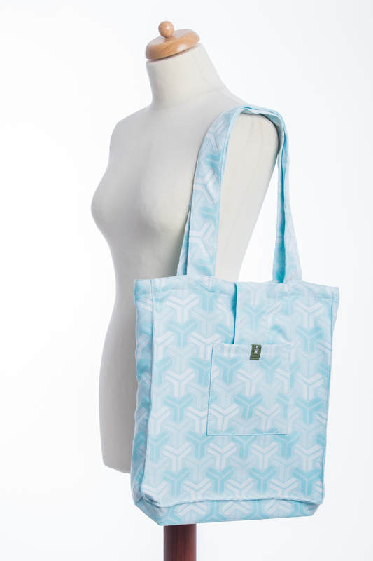 Shoulder bag made of wrap fabric (100% cotton) - TRINITY - standard size 37cmx37cm (grade B) #babywearing
