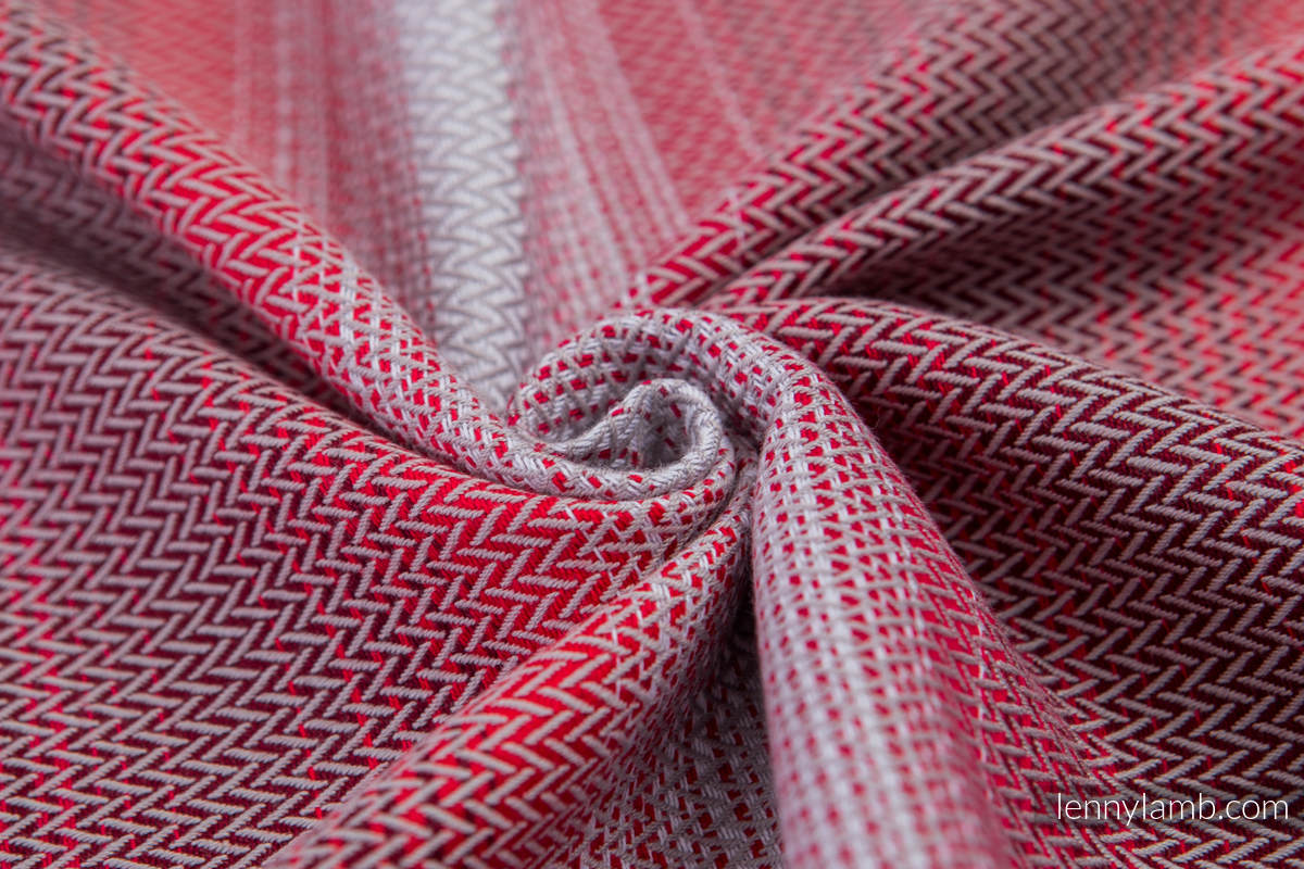 Baby Wrap, Herringbone Weave (100% cotton) - LITTLE HERRINGBONE ELEGANCE - size XS #babywearing