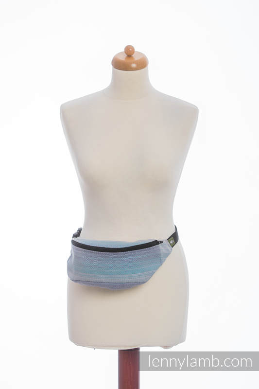 Waist Bag made of woven fabric, (100% cotton) - DIAMOND ILLUSION LIGHT #babywearing