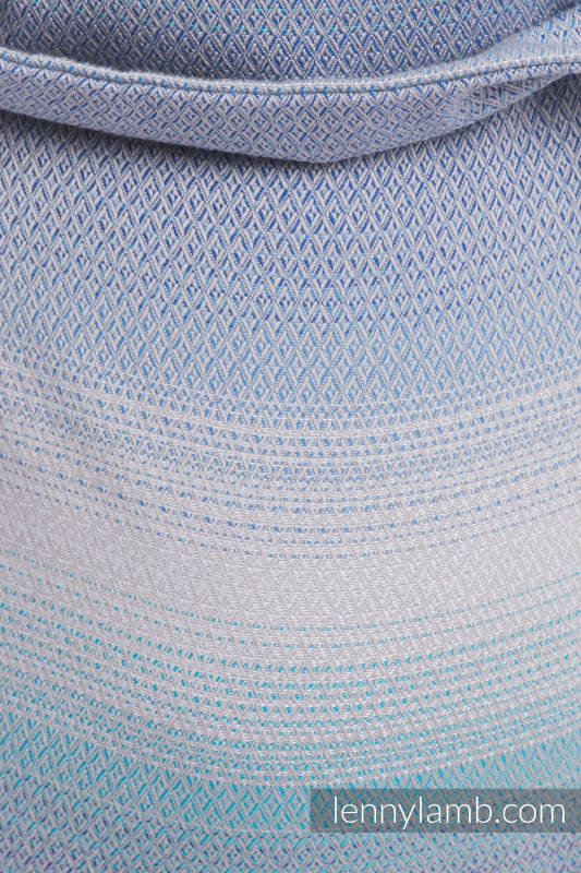 Lenny Buckle Onbuhimo, standard size, diamond weave (100% cotton) - Wrap conversion from DIAMOND ILLUSION LIGHT #babywearing