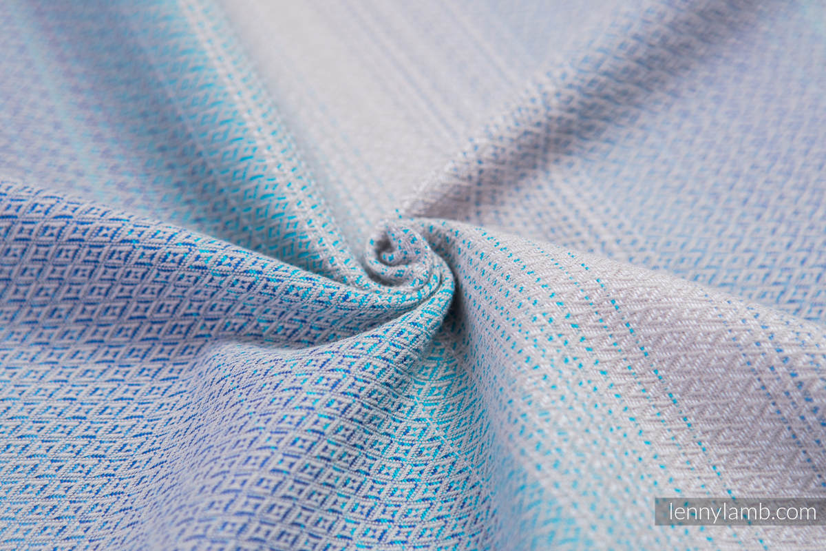 Baby Sling, Diamond Weave, 100% cotton - DIAMOND ILLUSION LIGHT - size S #babywearing