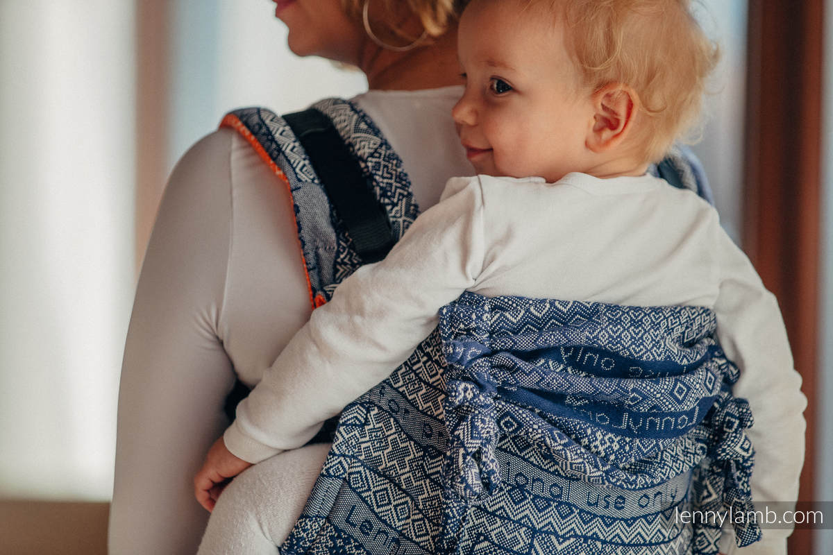 Lenny Buckle Onbuhimo, standard size, jacquard weave (100% cotton) - Wrap conversion from FOR PROFESSIONAL USE EDITION - ENIGMA 2.0 #babywearing