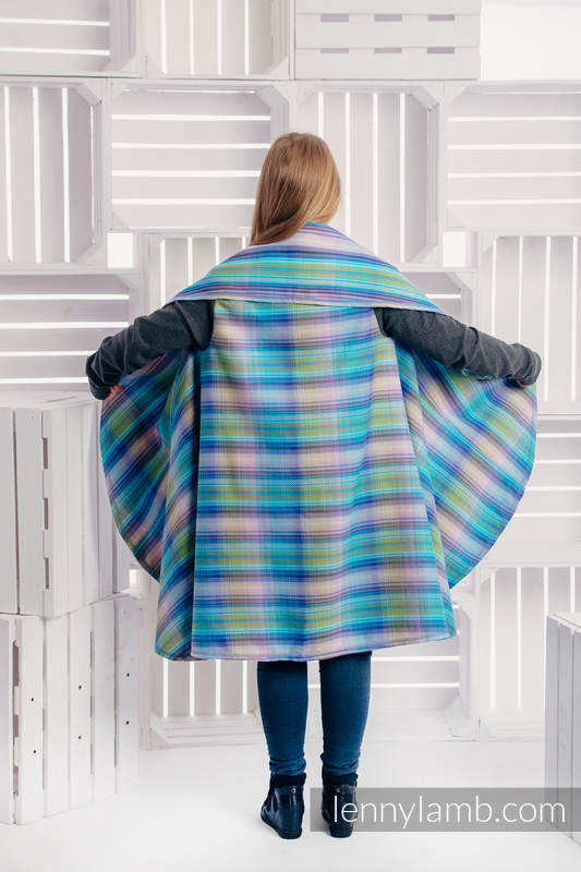 Long Cardigan - plus size - Little Herringbone Petrea #babywearing