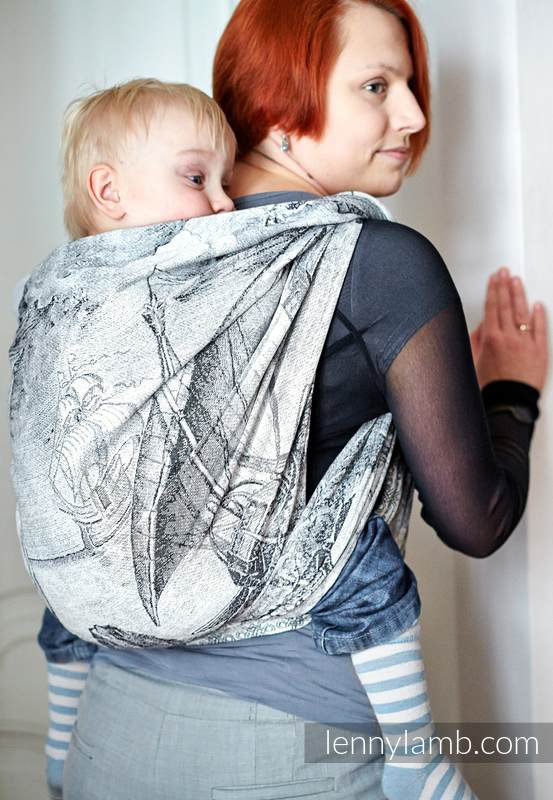 Baby Wrap Jacquard Weave 60 Cotton 40 Bamboo Galleons
