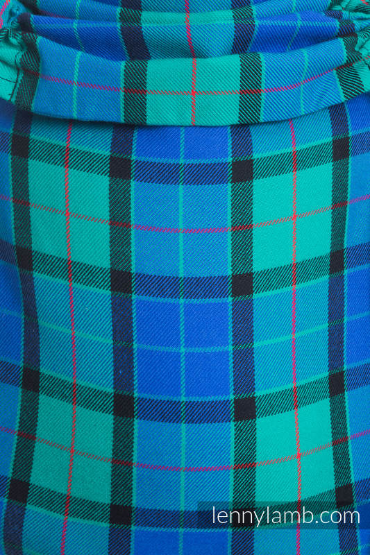 Lenny Buckle Onbuhimo, standard size, twill weave (100% cotton) - Wrap conversion from COUNTRYSIDE PLAID #babywearing