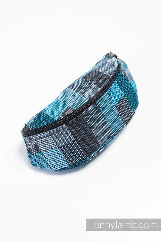 Waist Bag made of woven fabric, (100% cotton) - QUARTET RAINY  #babywearing