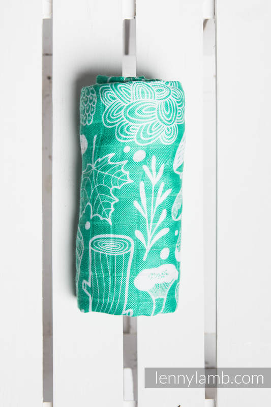 Swaddle Wrap - UNDER THE LEAVES #babywearing