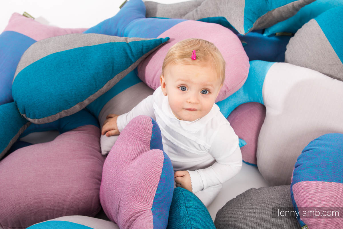 LennyLullaby Whale - Fluorite #babywearing