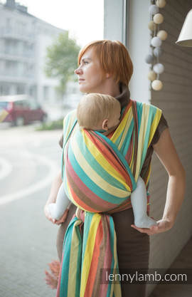 Baby Sling, Broken Twill Weave, 100% cotton, Four Seasons - size S (grade B)