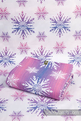 Shopping bag made of wrap fabric (100% cotton) - WINTER DELIGHT