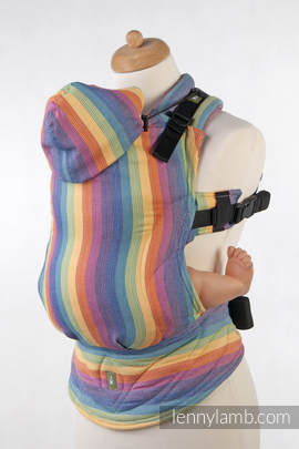 Ergonomic Carrier, Baby Size, broken-twill weave 100% cotton  - wrap conversion from LUNA - Second Generation