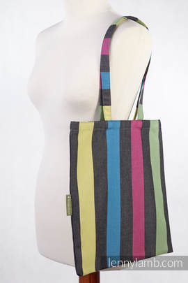 Shopping bag - 60% Cotton, 40% Bamboo - TWILIGHT - standard size 33cmx39cm (grade B)