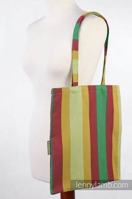 Shopping bag made of wrap fabric (100% cotton) - INDIAN SUMMER