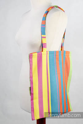 Shopping bag (made of wrap fabric) - Pinacolada