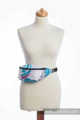 Waist Bag made of woven fabric, (100% cotton) - HIGH TIDE