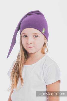 Elf Baby Hat (100% cotton) - size M - Sugilite