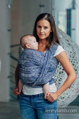 Baby Wrap, Jacquard Weave (100% cotton) - FOR PROFESSIONAL USE EDITION - ENIGMA 1.0 - size M