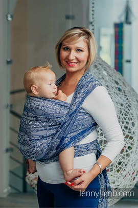 Baby Wrap, Jacquard Weave (100% cotton) - FOR PROFESSIONAL USE EDITION - ENIGMA 1.0 - size L