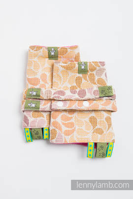 Drool Pads & Reach Straps Se, (100% cotton)t - COLORS OF FALL