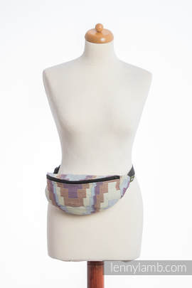 Waist Bag made of woven fabric, (100% cotton) - TRIO