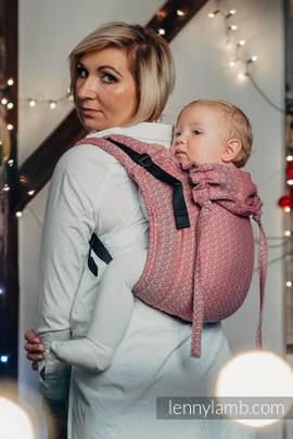Lenny Buckle Onbuhimo, standard size, jacquard weave (100% cotton) - Wrap conversion from LITTLE LOVE - MAGICAL MOMENTS
