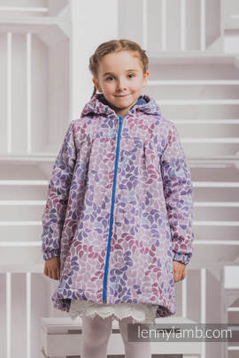 Girls Coat - size 122 - COLORS of FANTASY with Blue