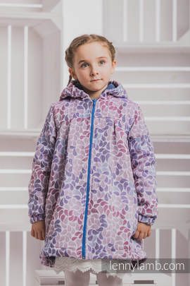 Girls Coat - size 104 - COLORS of FANTASY with Blue