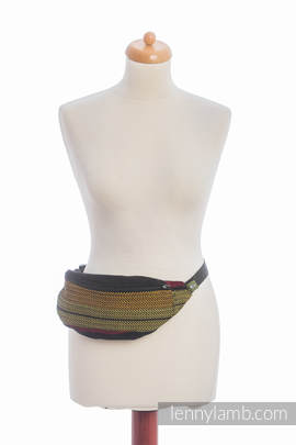 Waist Bag made of woven fabric, (100% cotton) - MOULIN - ARDENT