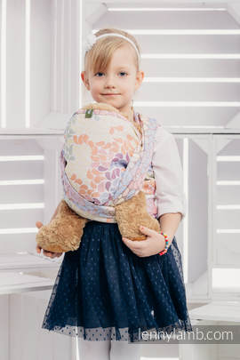 Doll Sling, Jacquard Weave, 100% cotton - COLORS OF LIFE