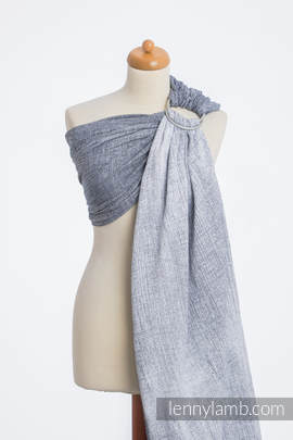 Ringsling, Jacquard Weave (100% cotton) - DENIM BLUE