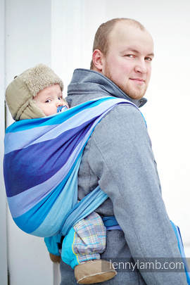 Baby Sling, Diamond Weave, 100% cotton - Finnish Diamond - size XS