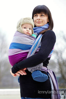 Baby Sling, Diamond Weave, 100% cotton - Norwegian Diamond - size XS