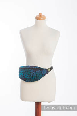 Waist Bag made of woven fabric, (100% cotton) - COLORS OF NIGHT