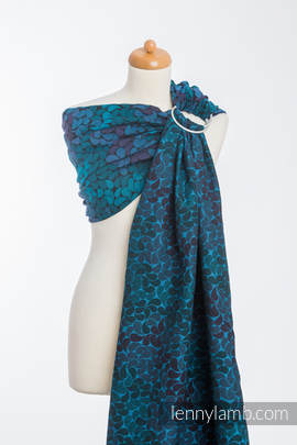 Ringsling, Jacquard Weave (100% cotton) - COLORS OF NIGHT