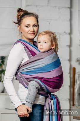 Baby Sling, Diamond Weave, 100% cotton - Norwegian Diamond - size XS (grade B)