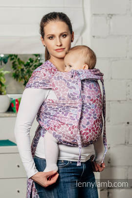 WRAP-TAI carrier Toddler with hood/ jacquard twill / 100% cotton / COLORS OF FANTASY