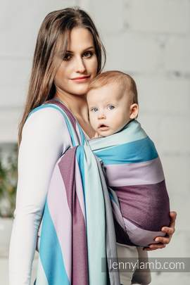 Baby Sling, Diamond Weave, 100% cotton - Icelandic Diamond - size XS