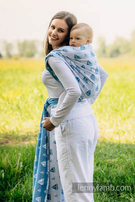Baby Wrap, Jacquard Weave (100% cotton) - HOLIDAY CRUISE - size S