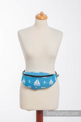 Waist Bag made of woven fabric, (100% cotton) - HOLIDAY CRUISE