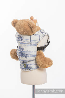 Doll Carrier made of woven fabric, 100% cotton - PARADISE ISLAND