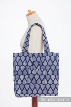 Shoulder bag made of wrap fabric (100% cotton) - JOYFUL TIME TOGETHER- standard size 37cmx37cm