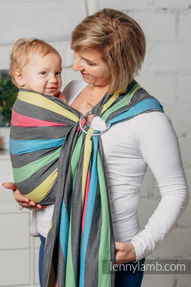 Ring Sling, Broken Twill Weave (40% bamboo + 60% cotton) - Twilight