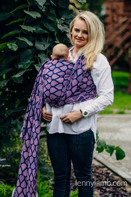 Baby Wrap, Jacquard Weave (100% cotton) - JOYFUL TIME WITH YOU - size L (grade B)