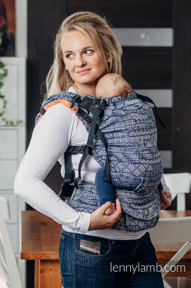 LennyUp Carrier, Standard Size, jacquard weave 100% cotton - wrap conversion from FOR PROFESSIONAL USE EDITION - ENIGMA 2.0