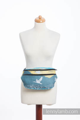 Waist Bag made of woven fabric, size large (100% cotton) - WANDER