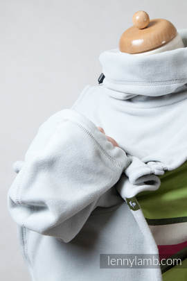 Turtleneck for two - light grey