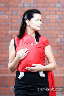 Stretchy/Elastic Baby Sling - Ruby - standard size 5.0 m
