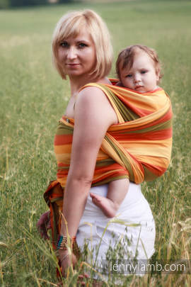 Baby Sling, Broken Twill Weave (100% Cotton) - SUMMER - size XL